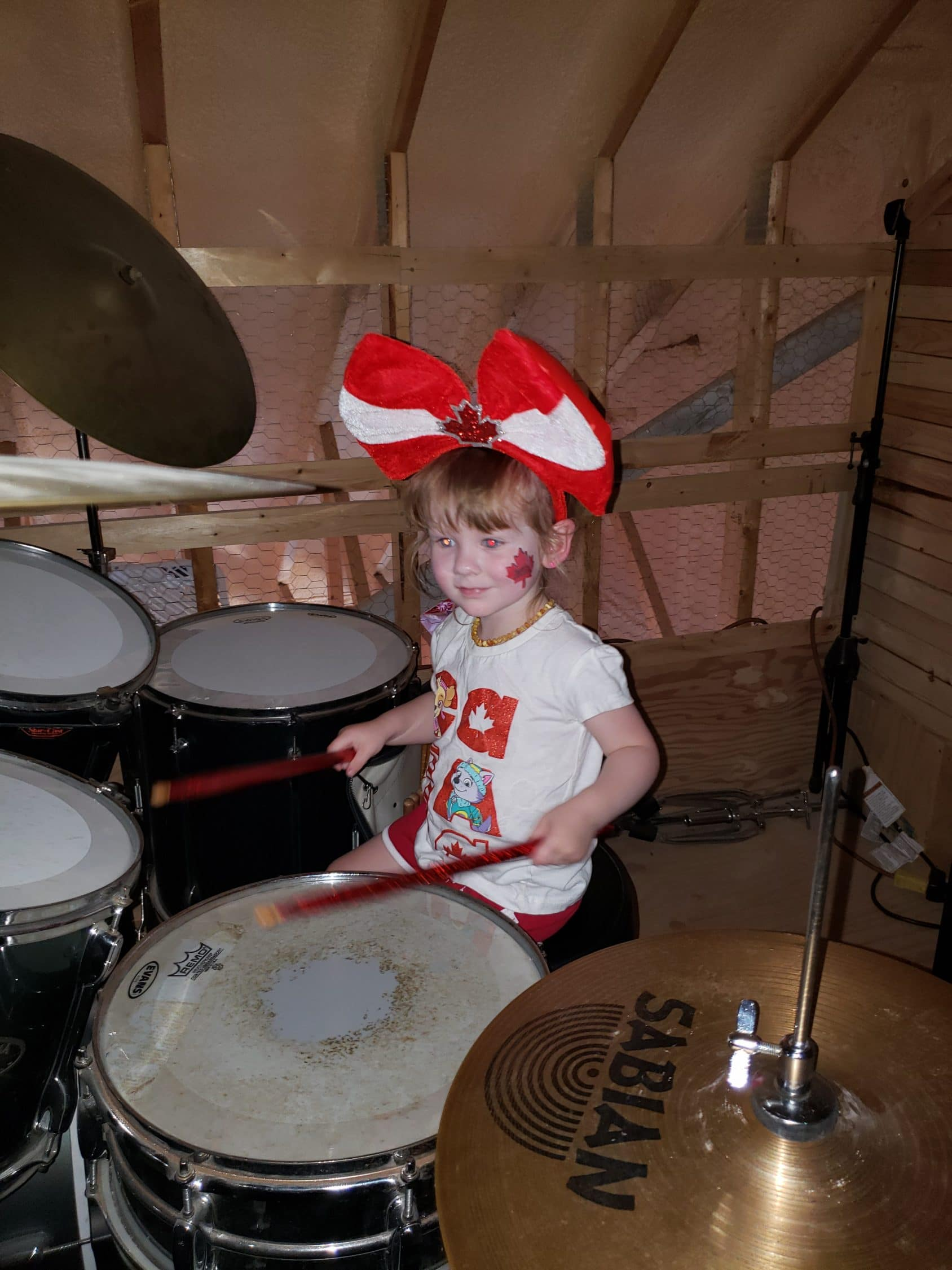 I Play The Rock and Roll Drums